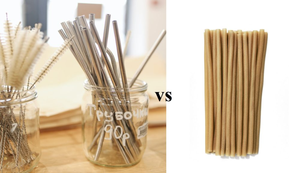 metal straws vs flavored straws